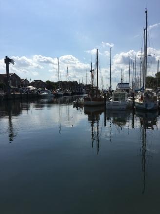 Der Hafen von Orth